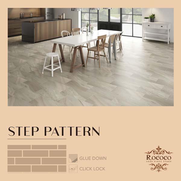 floor pattern03 rococo